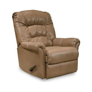 Mullen Casual Padded Back Rocker Recliner