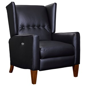 High-Leg Recliner with Wing Back