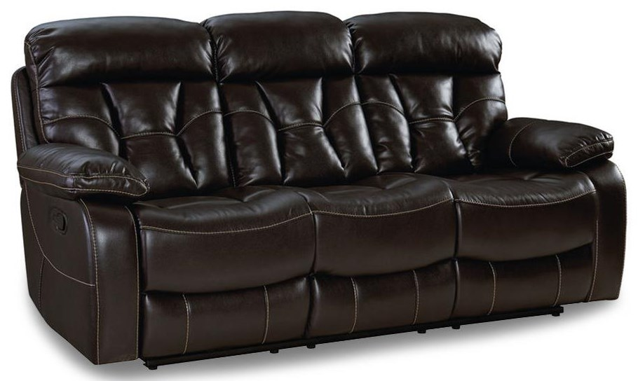 Spectrum Java Dual Reclining Sofa at Rotmans