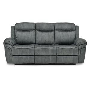 Reclining Sofa w/ Storage Drawer
