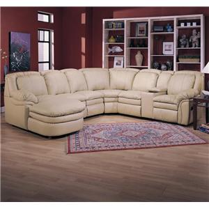 Lane Stallion Reclining Sectional Sofa