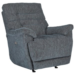 Glider Recliner with Curved Sides
