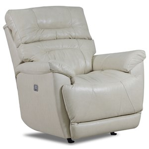 Rocker Recliner with Curved Sides