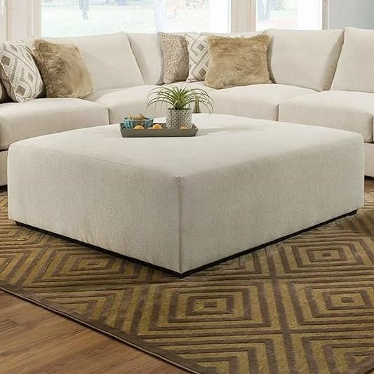 Vivian Ottoman by Lane at Powell's Furniture and Mattress