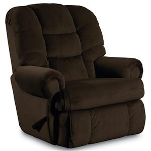 ComfortKing&reg Plush Stallion Wallsaver Recliner with Rolled Arms