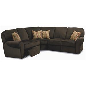 Lane Megan Powerized 3 Piece Sectional Sofa
