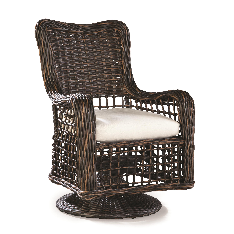 Moraya Bay Swivel Dining Arm Chair by Lane Venture at Jacksonville Furniture Mart
