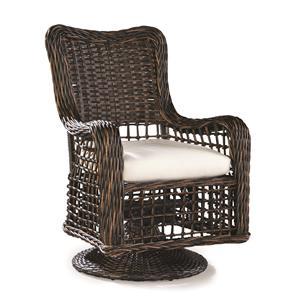 Swivel Dining Arm Chair