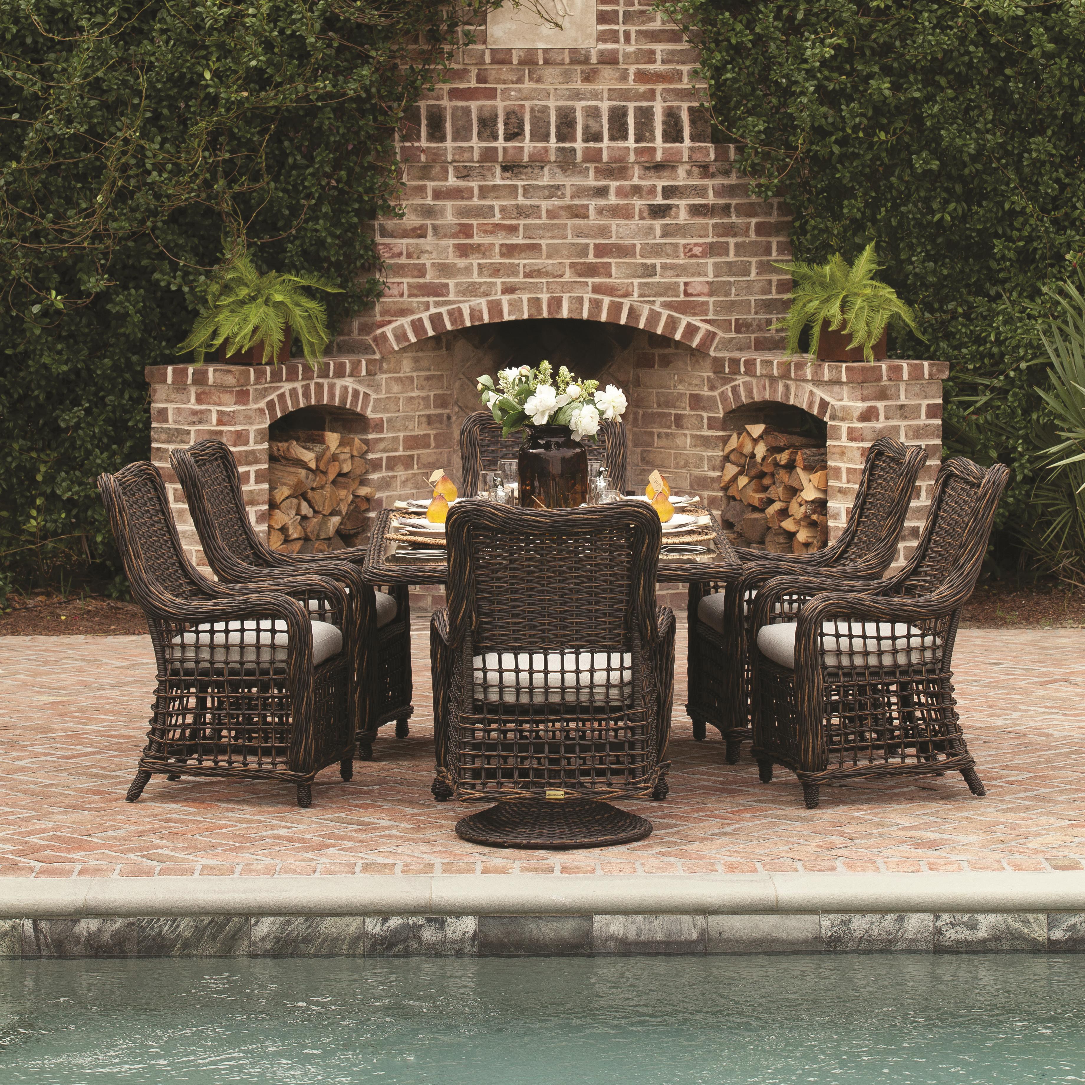 Moraya Bay Outdoor Dining Set by Lane Venture at Jacksonville Furniture Mart