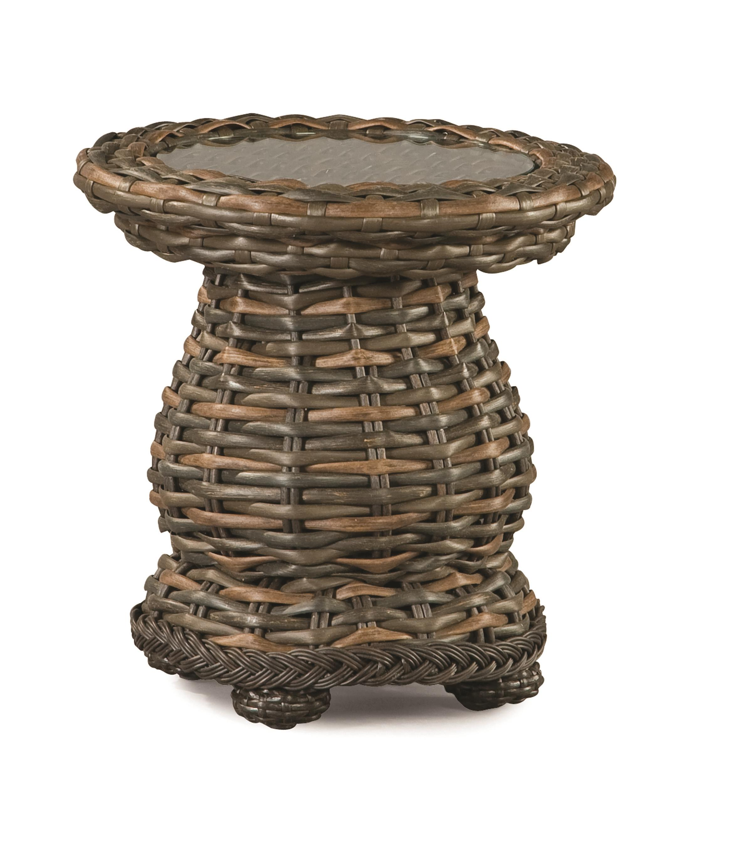South Hampton  Outdoor End Table by Lane Venture at Jacksonville Furniture Mart