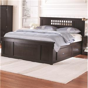 Lang Bayfield Full Panel Captains Bed