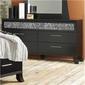 Lang Black Earth 6 Drawer Dresser