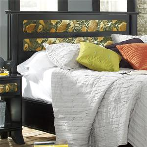 Lang Black Earth Queen Jupiter Headboard
