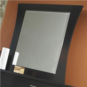 Lang Black Earth Black Framed Mirror