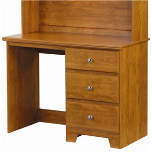 Lang Columbia 3 Drawer Desk