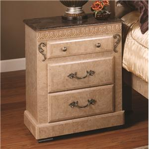 Lang Kenosha 3 Drawer Night Stand