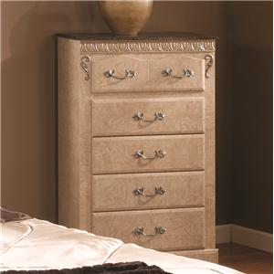 Lang Kenosha 5 Drawer Chest