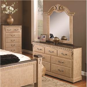 Lang Kenosha Dresser & Mirror