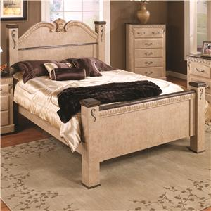 Lang Kenosha Full Poster Bed