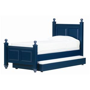 Lang Madison Twin Post Bed with Trundle Bed