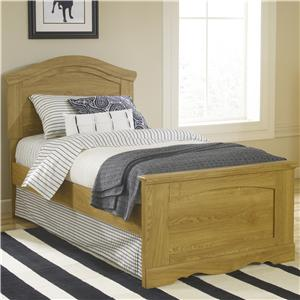 Lang Oak Creek Twin Panel Bed