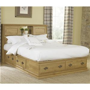 Lang Oak Creek King Bookcase Bed