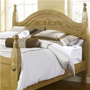 Lang Oak Creek Queen Wood Post Headboard