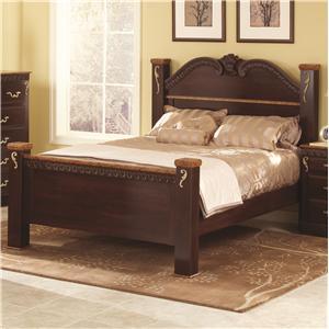 Lang Racine Full Poster Bed