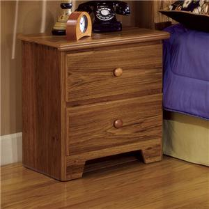 Lang Shaker 2 Drawer Nightstand