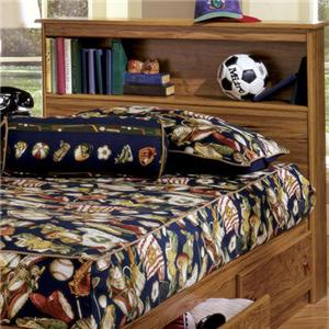 Lang Shaker Full Bookcase Headboard