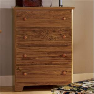 Lang Shaker 4 Drawer Chest