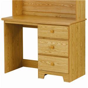 Lang Shaker 3 Drawer Desk