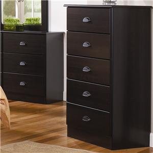Lang Special 5 Drawer Chest with Roller Glides