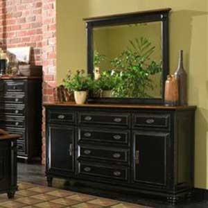 Largo Madison Madison Dresser and Mirror Set