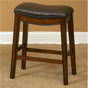"24"" Barstool with Upholstered Seat"