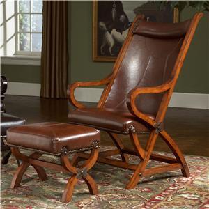 Largo Hunter Hunter Chair and Ottoman