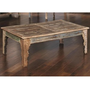 Reclaimed Rectangular Cocktail Table