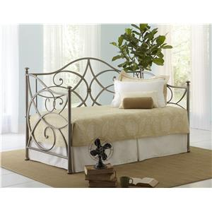 Metal Daybed with Pop-Up Trundle