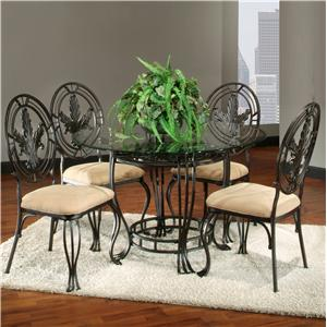 Largo Lanai 4 Piece Metal Dining Set