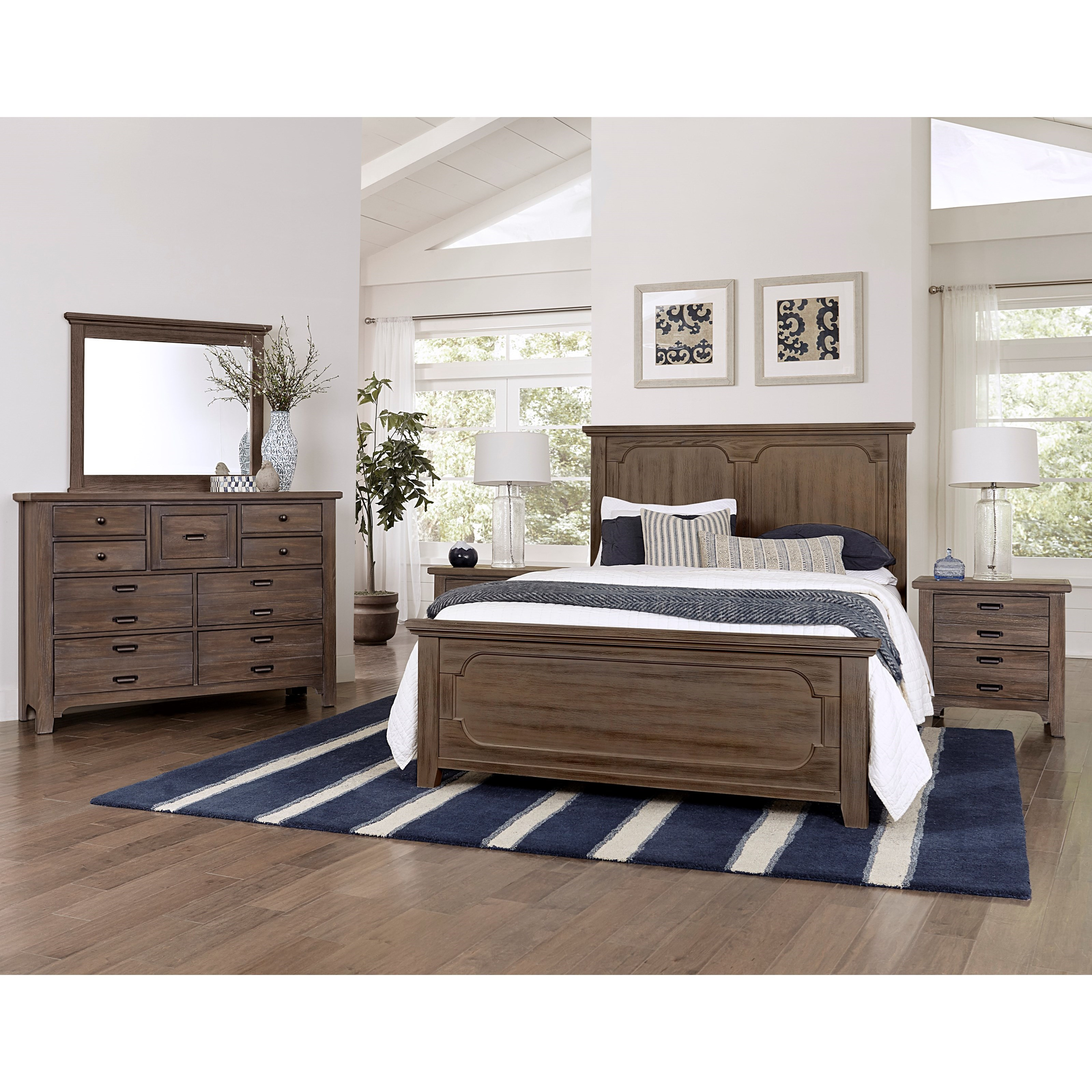 Bungalow Queen Bedroom Group by Laurel Mercantile Co. at Suburban Furniture