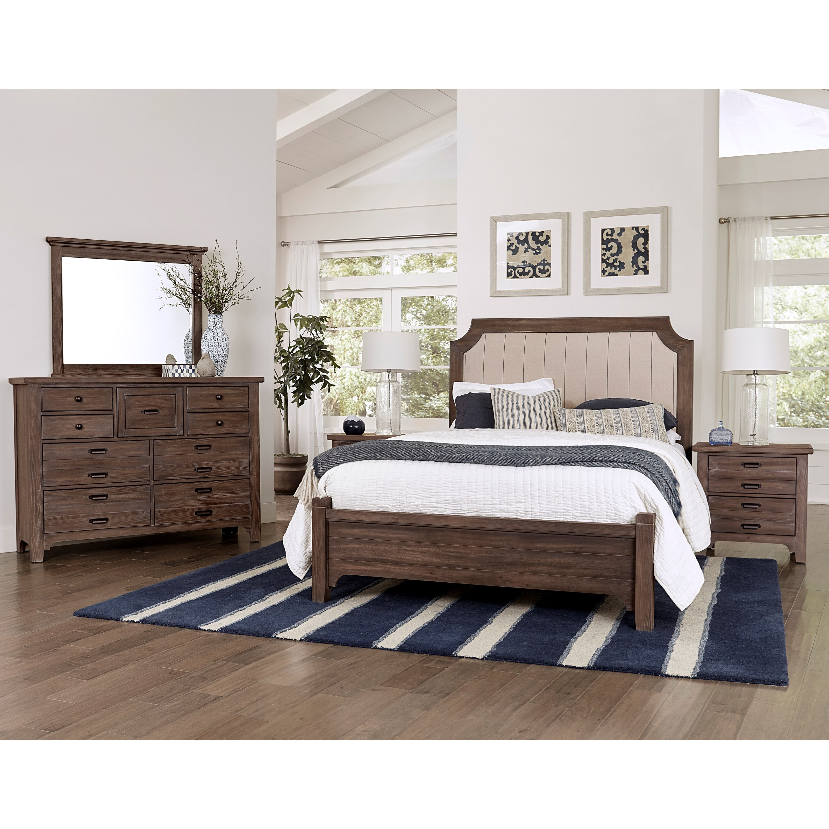 Bungalow Queen Bedroom Group by Laurel Mercantile Co. at Home Collections Furniture