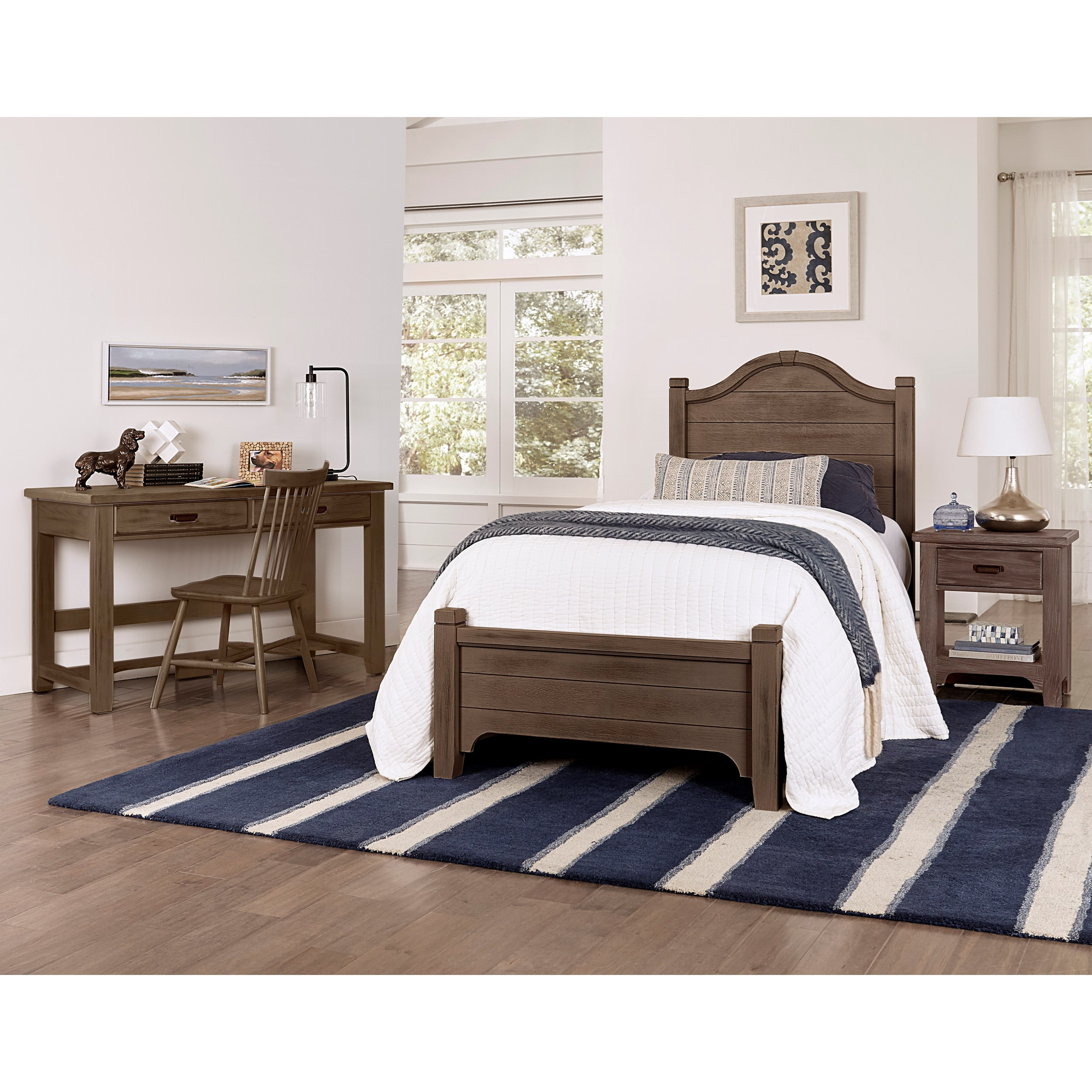 Bungalow Full Bedroom Group by Laurel Mercantile Co. at Powell's Furniture and Mattress