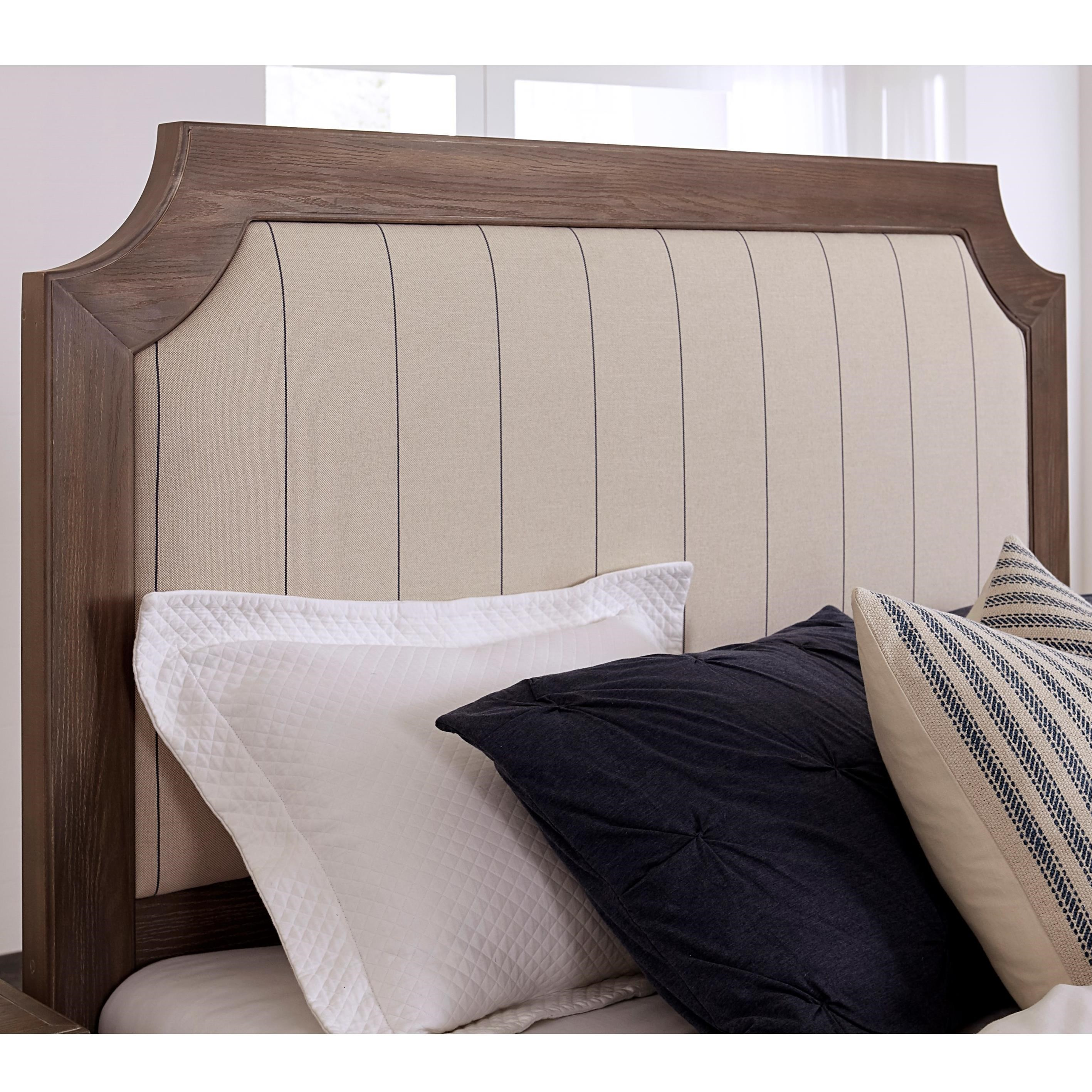 Bungalow Twin Upholstered Headboard by Laurel Mercantile Co. at Powell's Furniture and Mattress