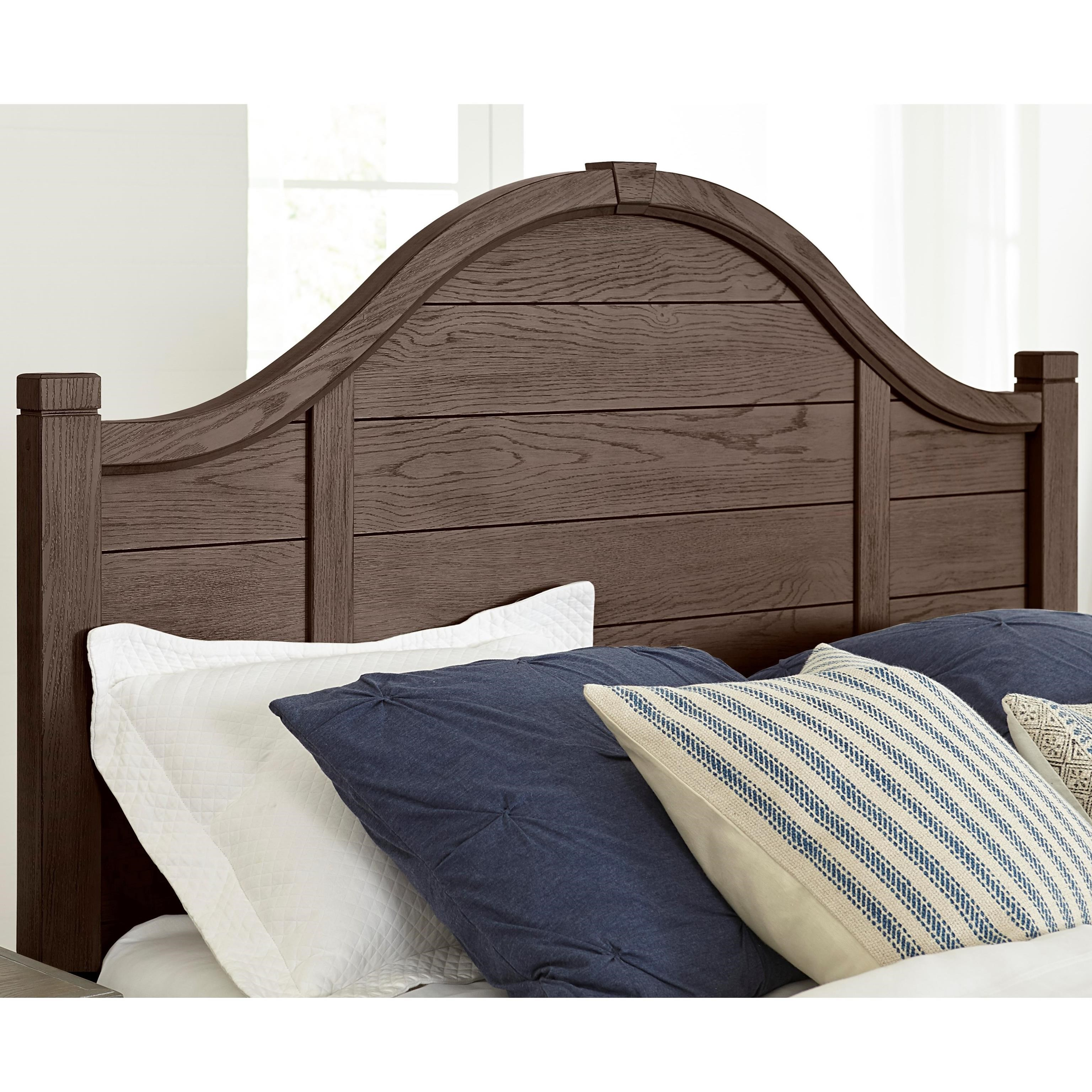Bungalow Full Arch Headboard by Laurel Mercantile Co. at Johnny Janosik