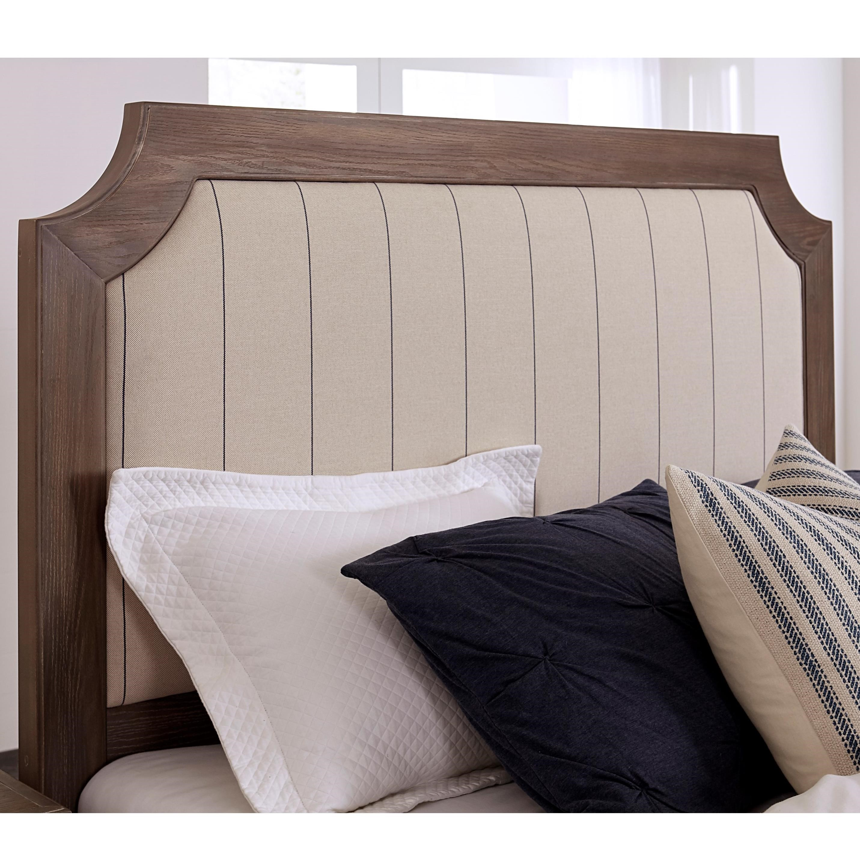 Bungalow King Upholstered Headboard by Vaughan-Bassett at Crowley Furniture & Mattress