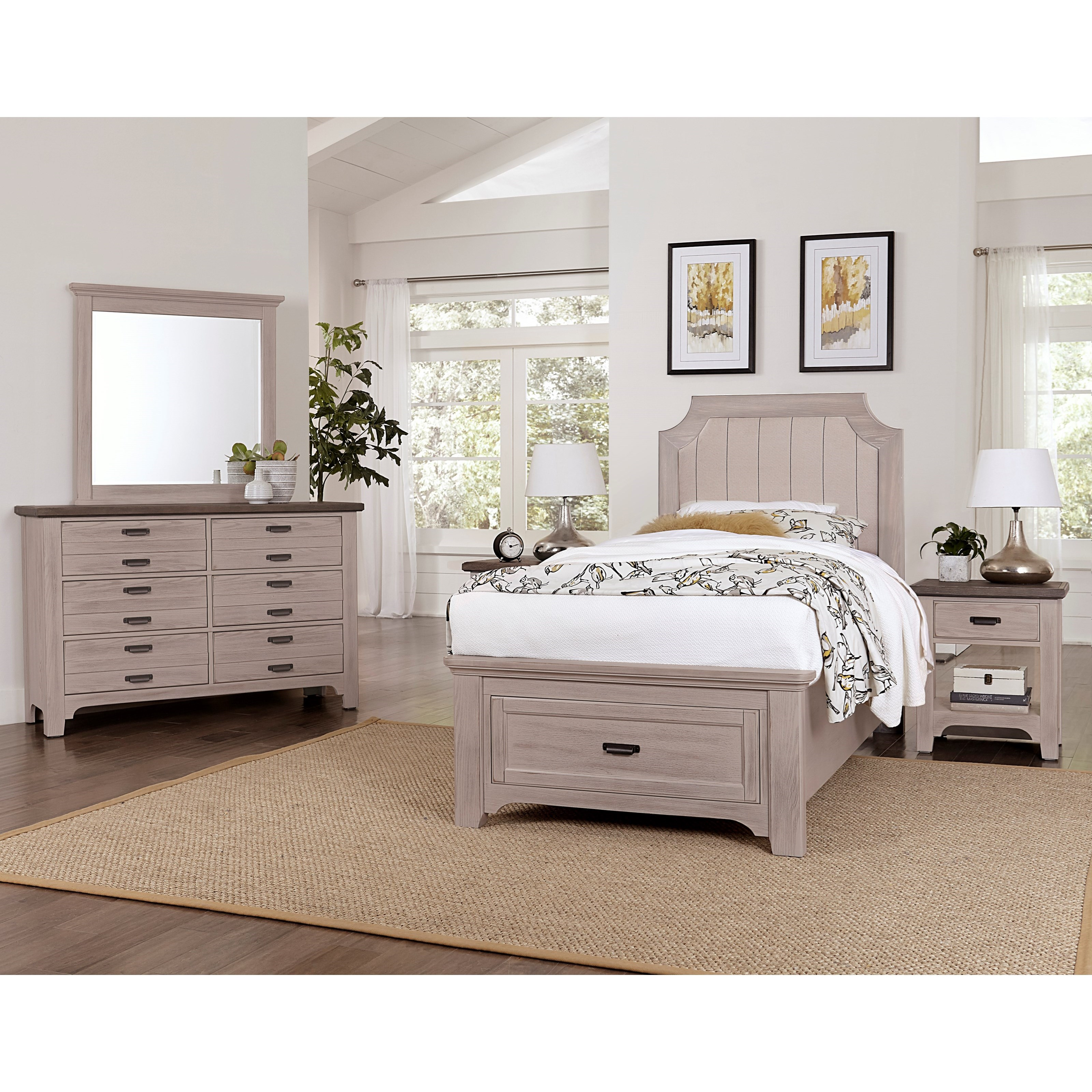 Bungalow Full Bedroom Group by Vaughan-Bassett at Crowley Furniture & Mattress
