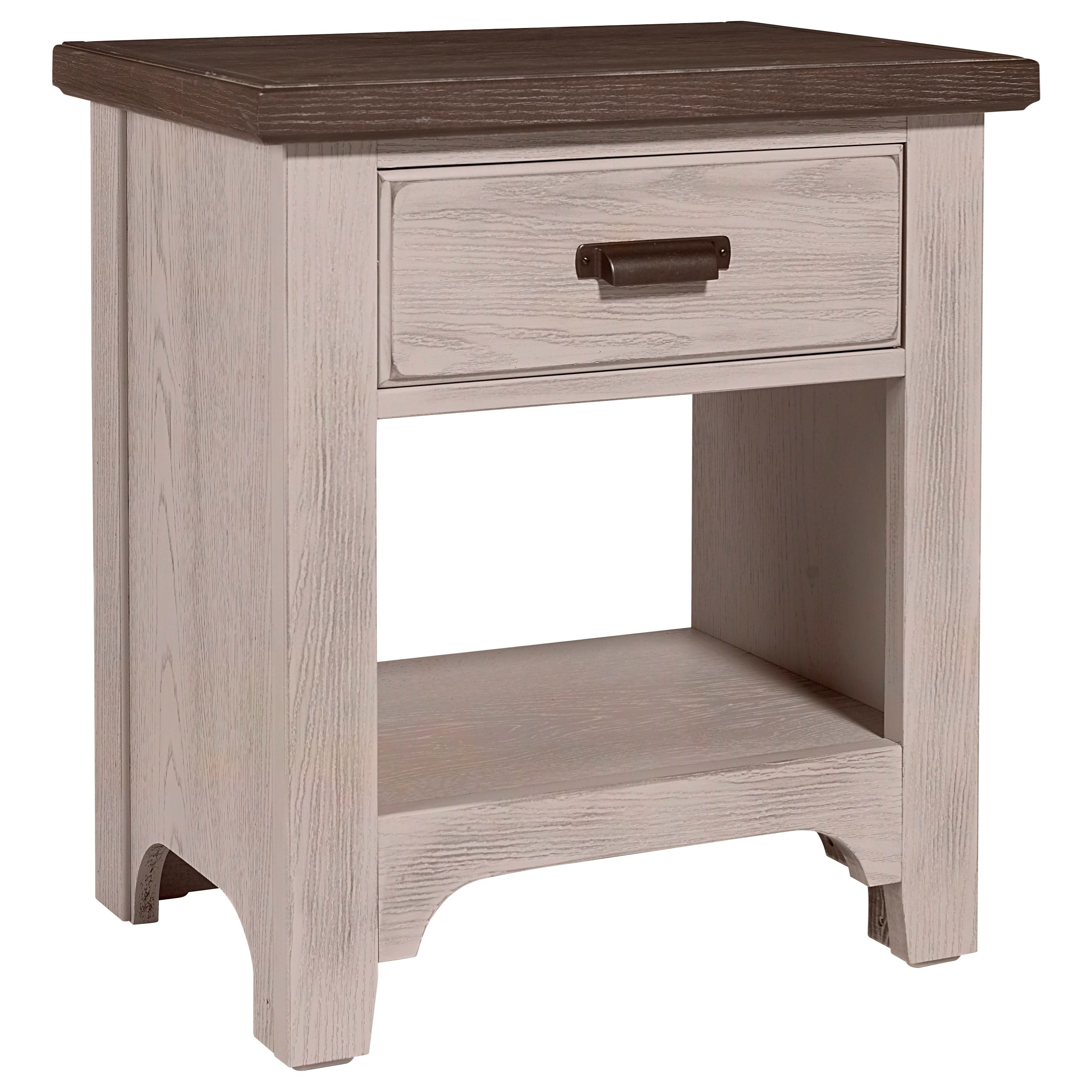 Bungalow Nightstand by Laurel Mercantile Co. at Darvin Furniture