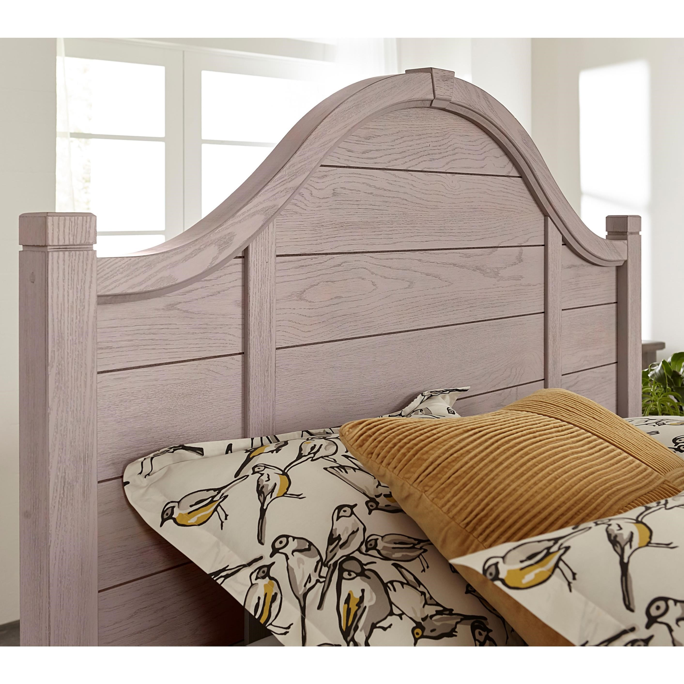 Bungalow Twin Arch Headboard by Laurel Mercantile Co. at Darvin Furniture