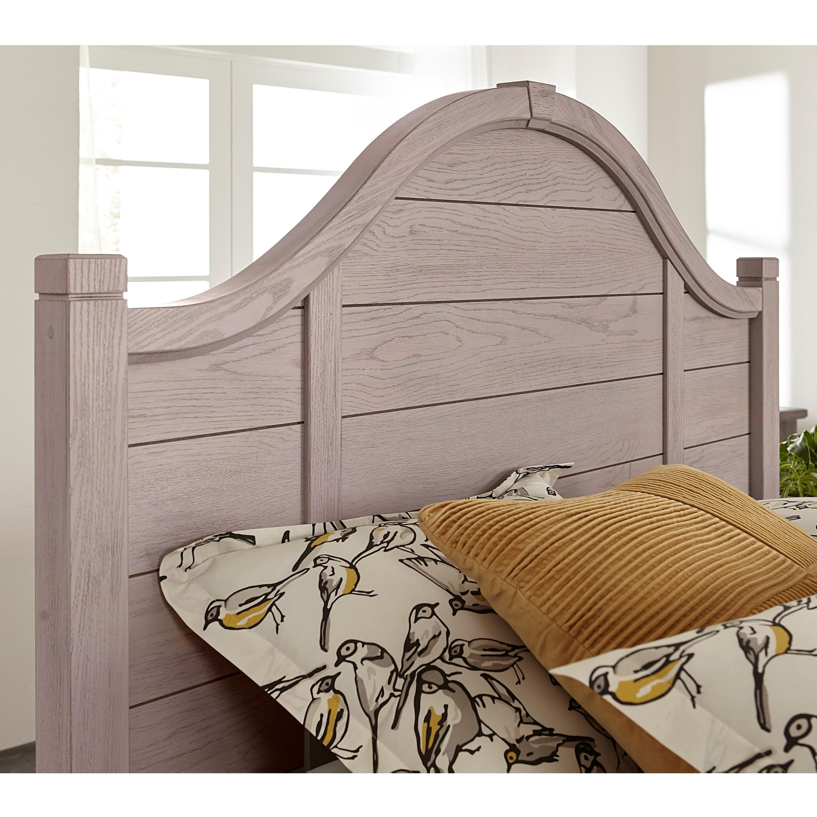 Bungalow Full Arch Headboard by Laurel Mercantile Co. at Darvin Furniture