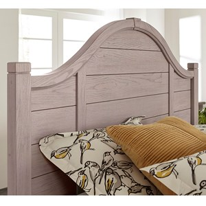 Transitional Queen Arch Headboard